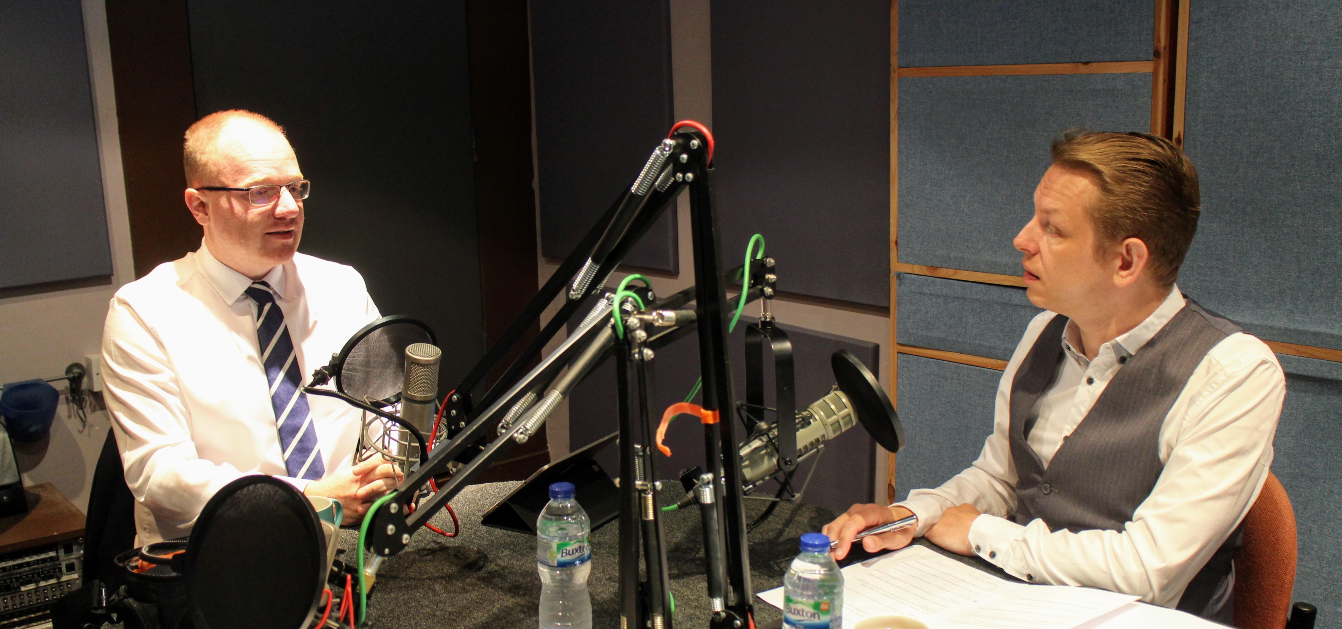 Podcast Production Services - Richard Usher interviews Chris Lunn